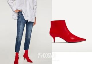 牛仔裤来自Zara 售价399元 可从品牌官网购买