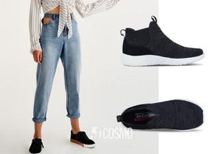 牛仔裤来自Pull & Bear 售价249元 可从品牌官网购买