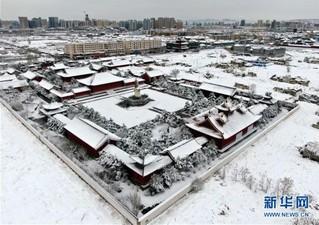 (环境)(2)古城春雪