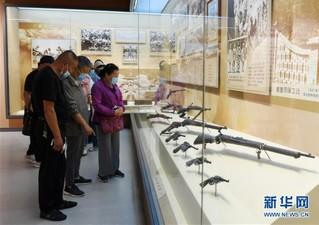 """(社会)(2)""""抗日根据地的创建与发展""""专题展览在京开幕"""