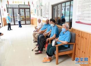 (社会)(3)山东青岛:医养结合打造养老服务