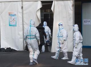 (聚焦疫情防控)(3)武汉体育中心方舱医院开始收治首批患者