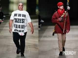 2018秋冬伦敦男装周:比女生还嗲,但我依然是好男孩