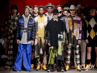 2018秋冬伦敦男装周:穿得比女生还嗲,但我依然是个好