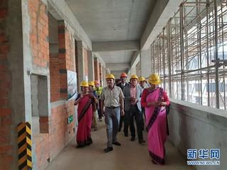 (国际)(1)中国援尼泊尔杜巴中学重建项目举办开放日活动