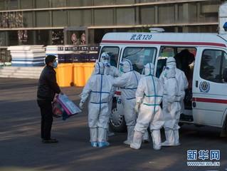 (聚焦疫情防控)(4)武汉体育中心方舱医院开始收治首批患者