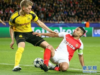 (体育)(3)足球——欧冠:摩纳哥队晋级四强