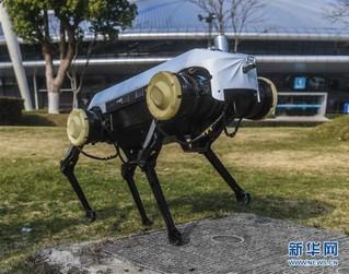 """(科技)(1)浙大发布""""绝影""""四足机器人"""