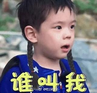 爸爸去哪儿5 陈小春把嗯哼名字念成啊哈 杜江晒儿子表情包回应