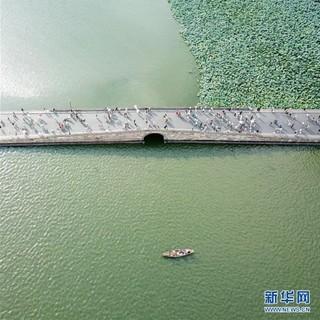 (美丽中国)(4)鸟瞰西湖美景