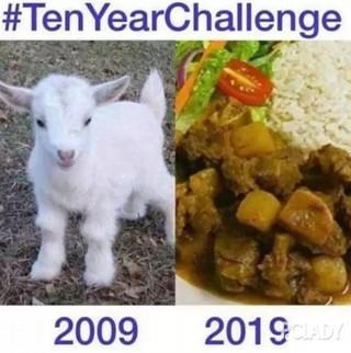 十年挑战 | 你觉得岁月是杀猪刀还是整容刀?