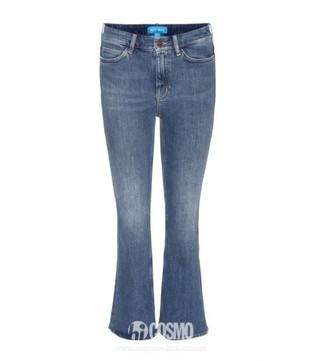 牛仔裤来自M I H JEANS 售价1606元 可从德国Mytheresa购买