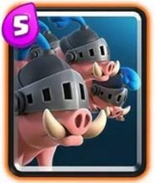 皇室战争皇家野猪