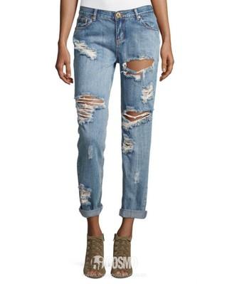 牛仔裤来自One Teaspoon 售价460元 可从美国LastCall购买