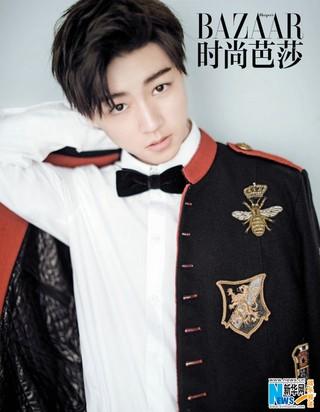 TFBOYS王俊凯首个单人杂志大片曝光 告别青涩蜕变轻熟少年