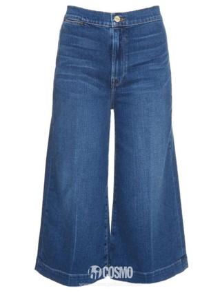 牛仔裤来自Frame 售价1364元 可从英国MatchesFashion购买