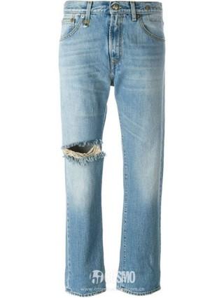 牛仔裤来自R13 售价1881元 可从英国Farfetch购买