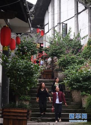 """(美丽中国)(4)重庆松溉:""""一品古镇 十里老街"""""""
