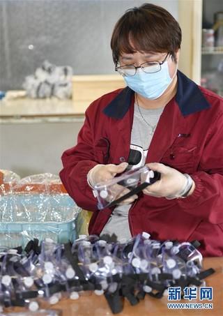 (聚焦疫情防控)(4)吉林延边:加紧生产防疫物资助力疫情防控