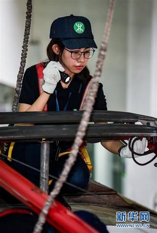 """(关注妇代会)(5)地铁检修车间的""""她力量"""""""