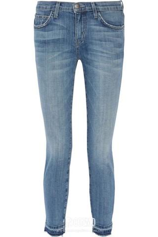 牛仔裤来自Current Elliott 售价592元 可从英国THE OUTNET购买