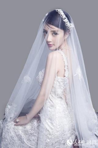 范冰冰高圆圆女星婚纱造型大PK 谁是最美新娘?【5】