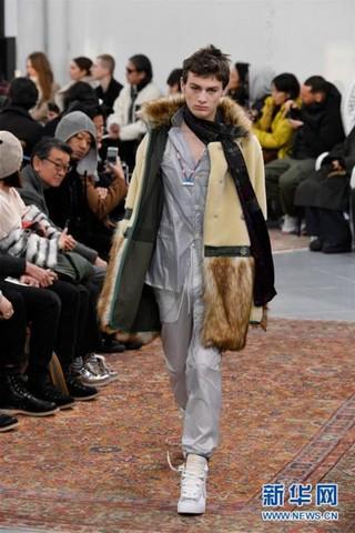 (国际)(3)巴黎男装周——SACAI发布秋冬男装