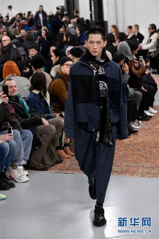(国际)(1)巴黎男装周——SACAI发布秋冬男装