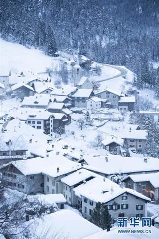 (国际)(4)瑞士山村清晨