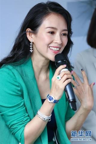 (国际)(2)中国演员章子怡将担任第32届东京国际电影节评委会主席