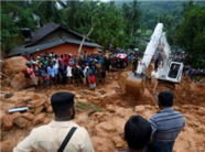 斯里兰卡暴雨引发泥石流 数十人死亡