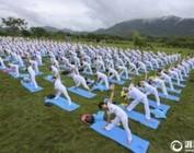 温州:国际瑜伽日 太极瑜伽共舞