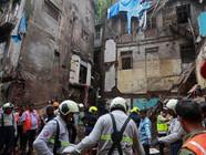 孟买楼房坍塌事故遇难人数升至14人