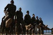 阿富汗国民军新兵训练结业典礼