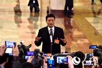 国务院国有资产监督管理委员会主任肖亚庆。人民网记者翁奇羽 摄