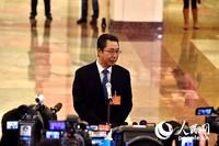 国家知识产权局局长申长雨。人民网记者翁奇羽 摄