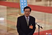 国务院发展研究中心主任李伟。人民网记者翁奇羽 摄