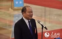 国家统计局局长宁吉喆。人民网记者 翁奇羽摄