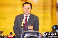 国家海洋局副局长房建孟。人民网记者苏楠 摄