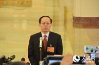 国家体育总局局长苟仲文。人民网记者苏楠 摄
