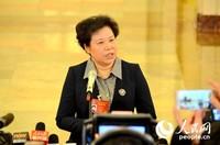 中国气象局局长刘雅鸣。人民网记者苏楠 摄