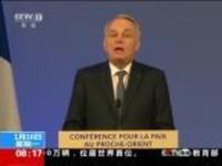 法国:巴黎国际和平会议在法国举行