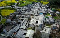 这是3月22日拍摄的贵州省安顺市本寨古村。