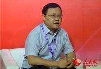 深圳市博安达信息技术股份有限公司总裁周国龙在接受人民网专访