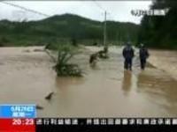 直击南方强降雨·福建三明:暴雨红色预警  房屋几乎被洪水淹没