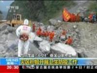 """四川茂县""""6·24""""叠溪山体垮塌:灾区积极开展卫生防疫工作"""