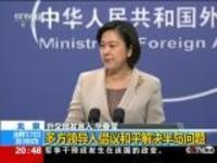 中国外交部:多方领导人倡议和平解决半岛问题