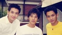林志颖(左)、元彬(中)、钟汉良(右)