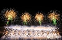 1-第三届国际烟花节于19日至20日在莫斯科举行(人民网记者 屈海齐 摄)