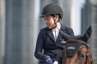 华侨马术美女朱美美 全力争取东京奥运参赛资格